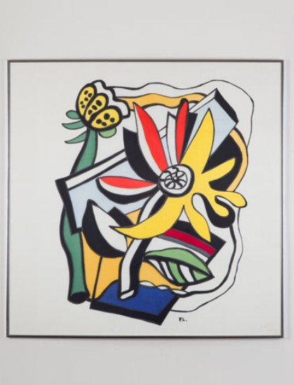 Flower and Butterfly       Fernand Leger