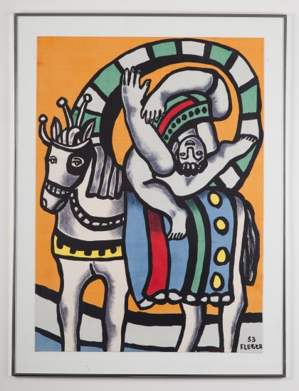 Inverted Figure        Fernand Leger
