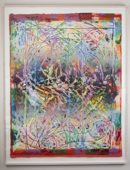 Talladega Three II        Frank Stella, 1982