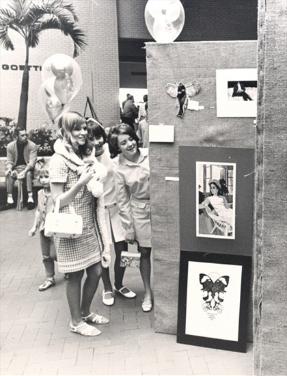 NorthPark Center Art Show      August 1, 1969