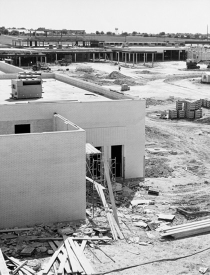 Original construction of NorthPark Center      November 11, 1964