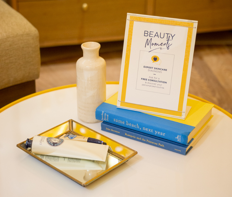 loccitane beauty concierge