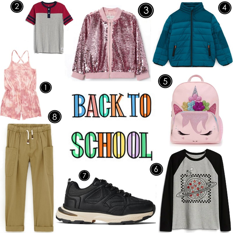 back to school kids trends
