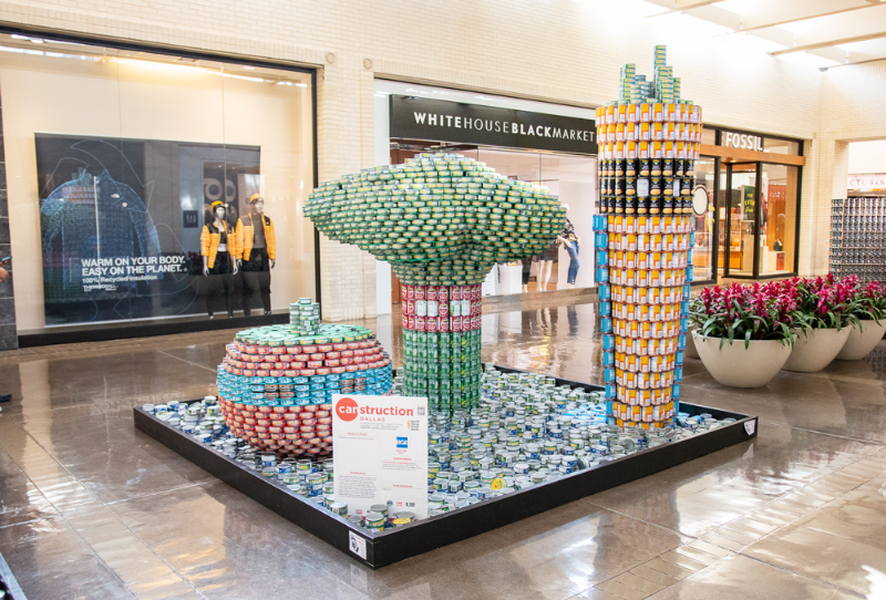 canstruction northpark 2019