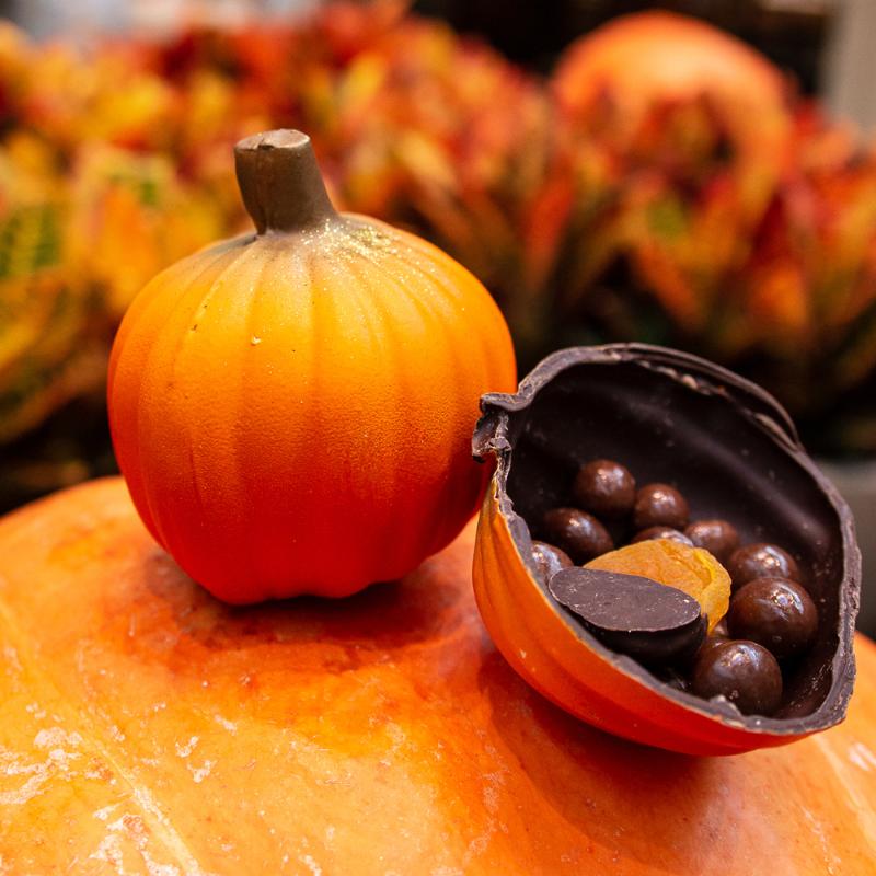 kate weiser chocolate pumpkin