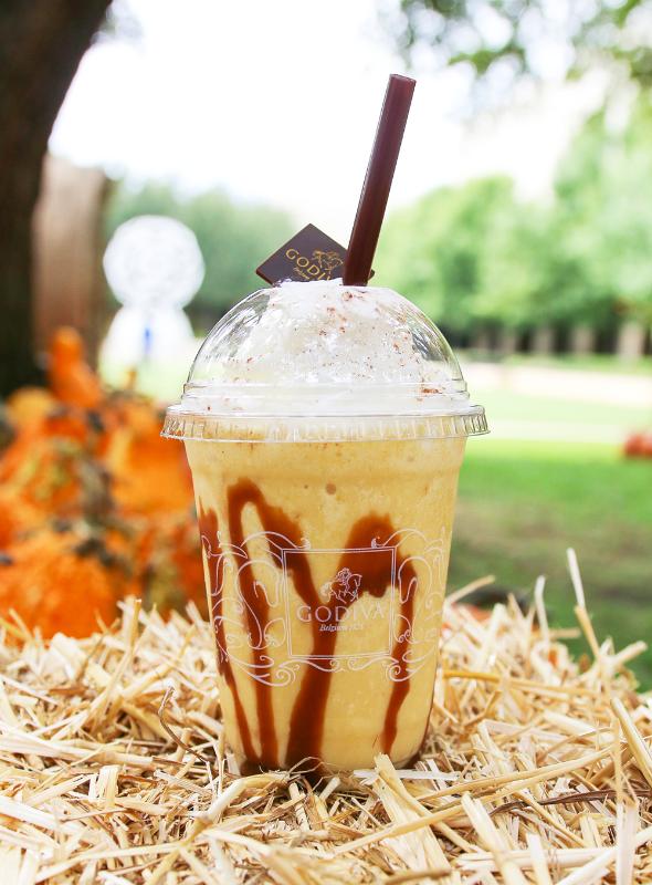 godiva pumpkin spice drink