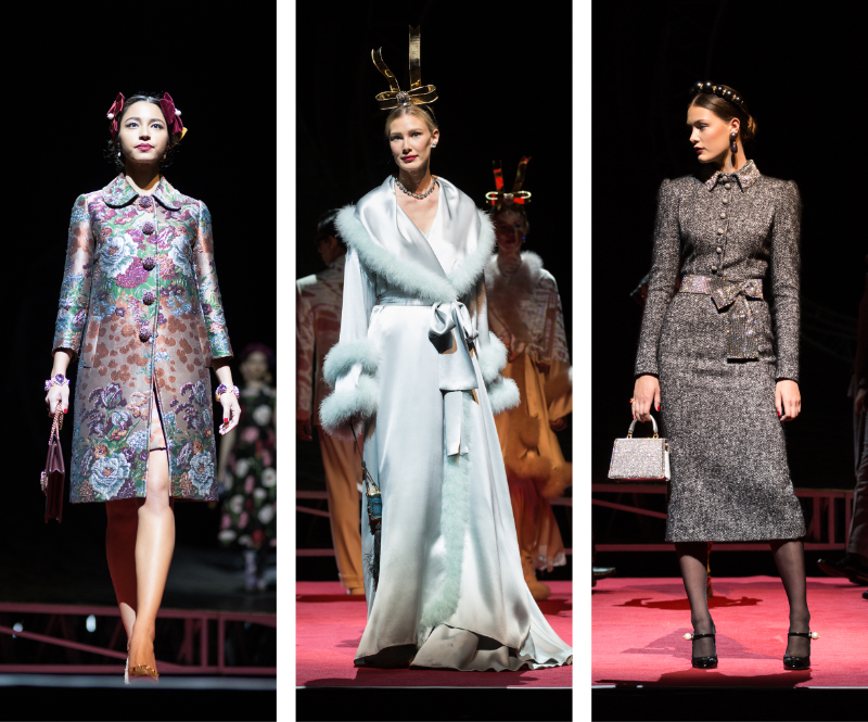 dolce runway looks