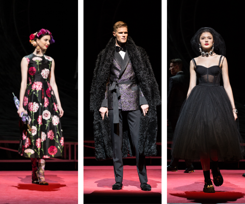 dolce runway fashions