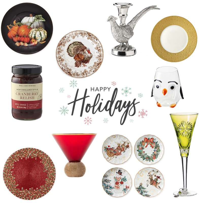 northpark holiday tablescape items