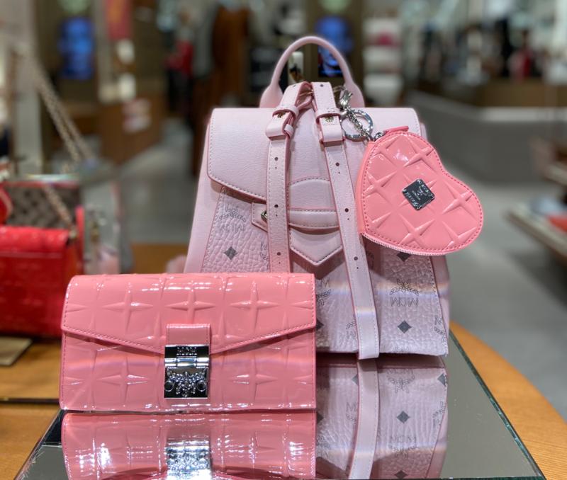 mcm pink bags