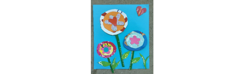 garden plot inspired craft