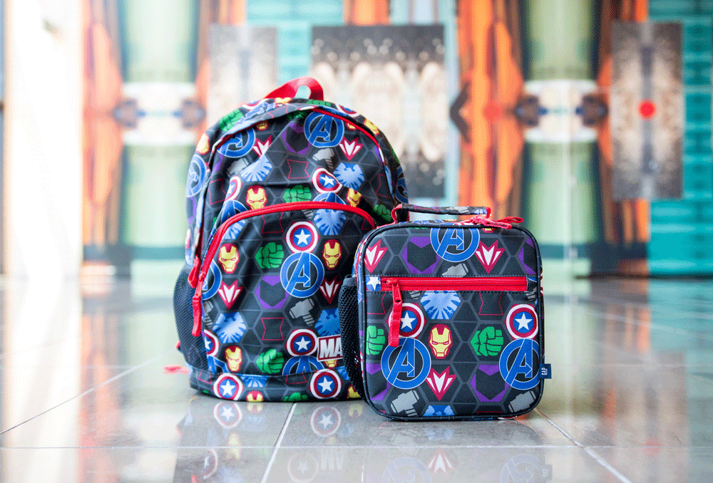 gap marvel backpacks