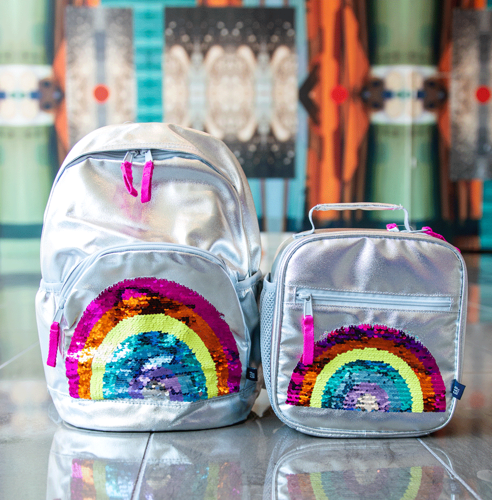 gap rainbow backpack