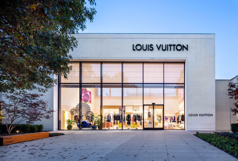 louis vuitton new northpark exterior