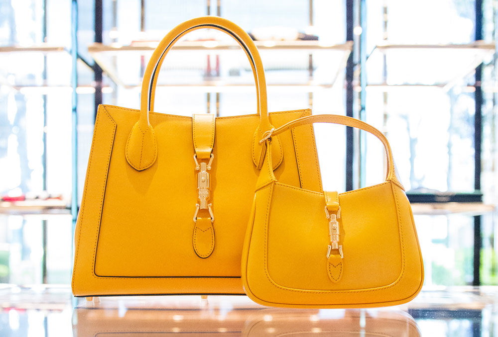 gucci yellow bags