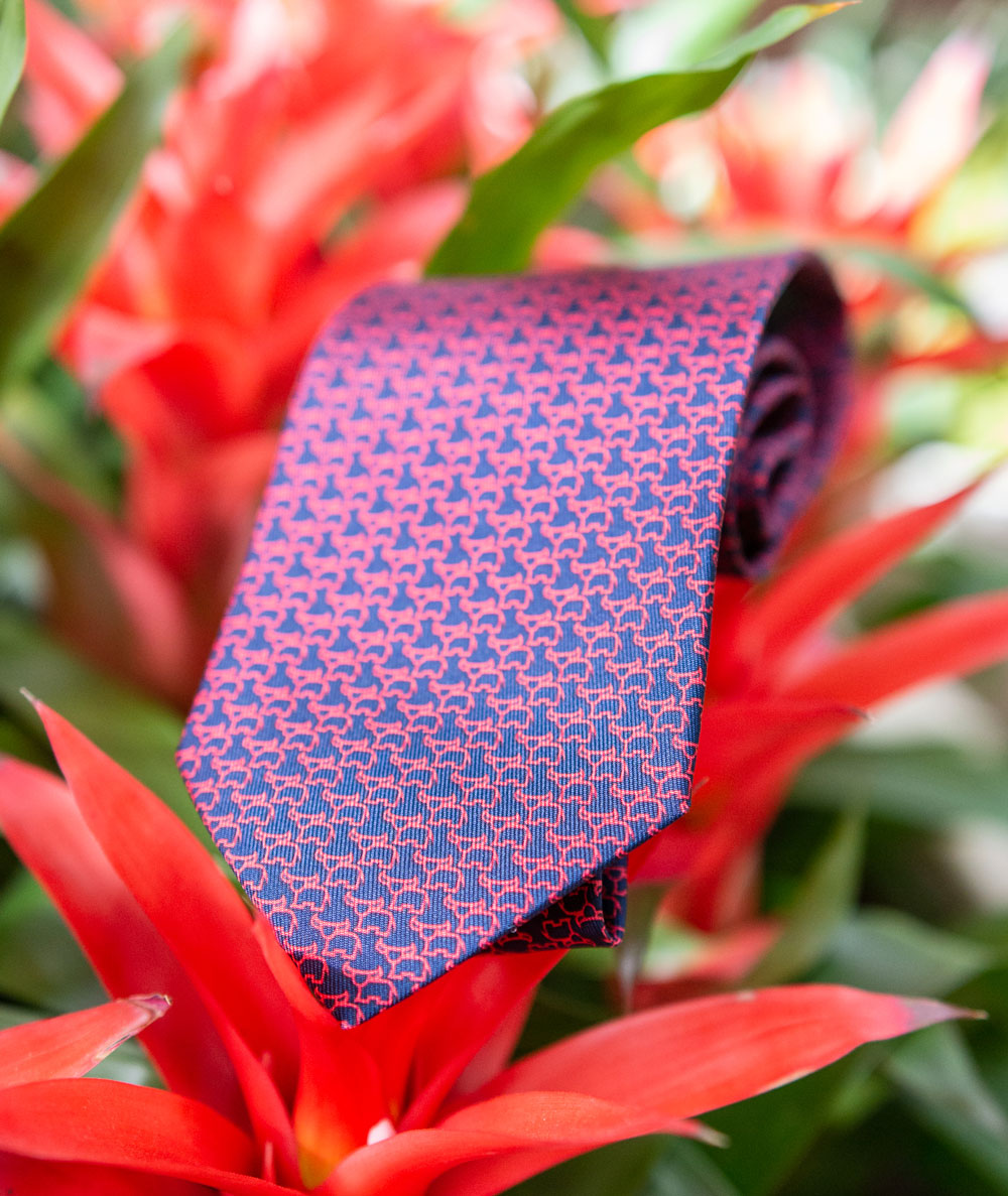ferragamo year of the ox tie