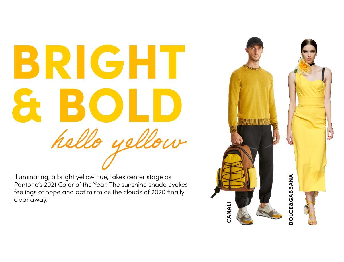 bright and bold hello yellow