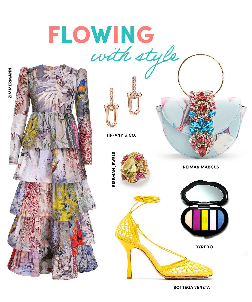 flowing with style