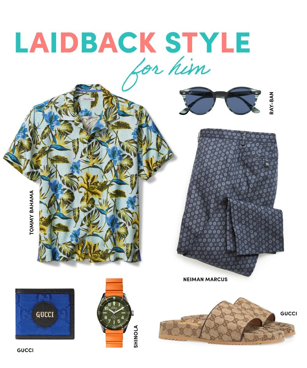 laidback style