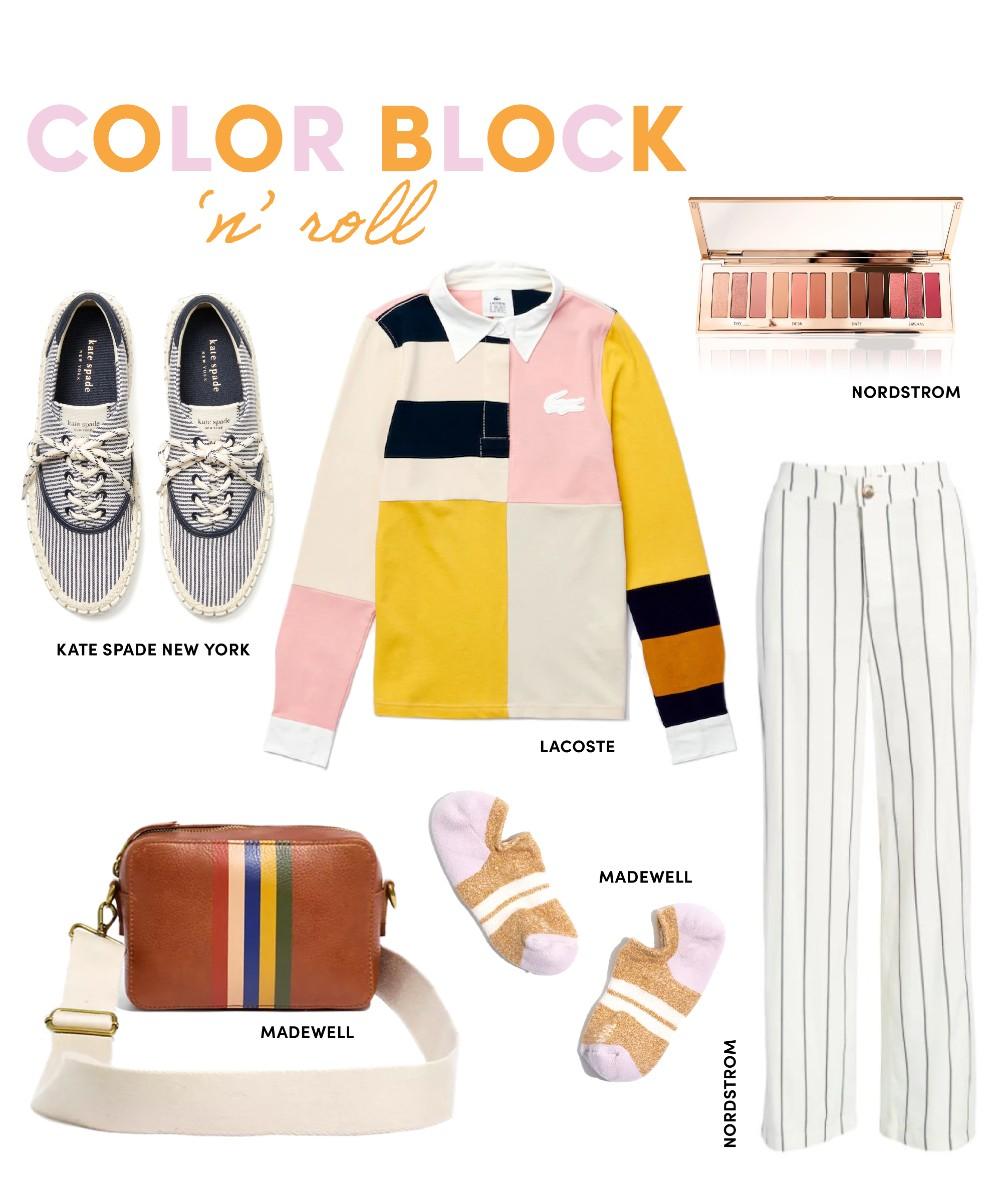 color block n roll