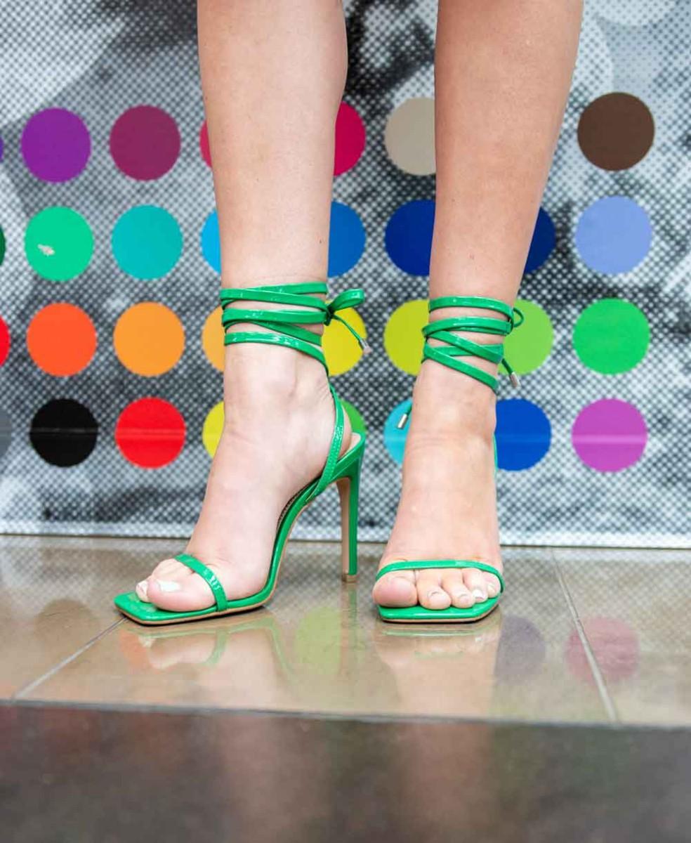 steve madden green heels