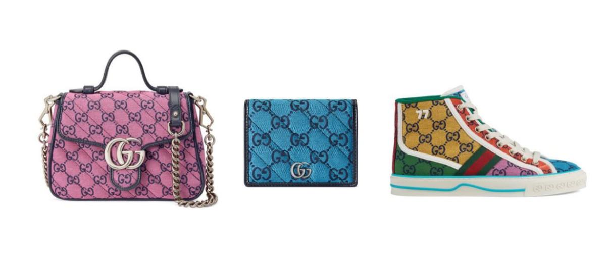 gucci multicolor collection