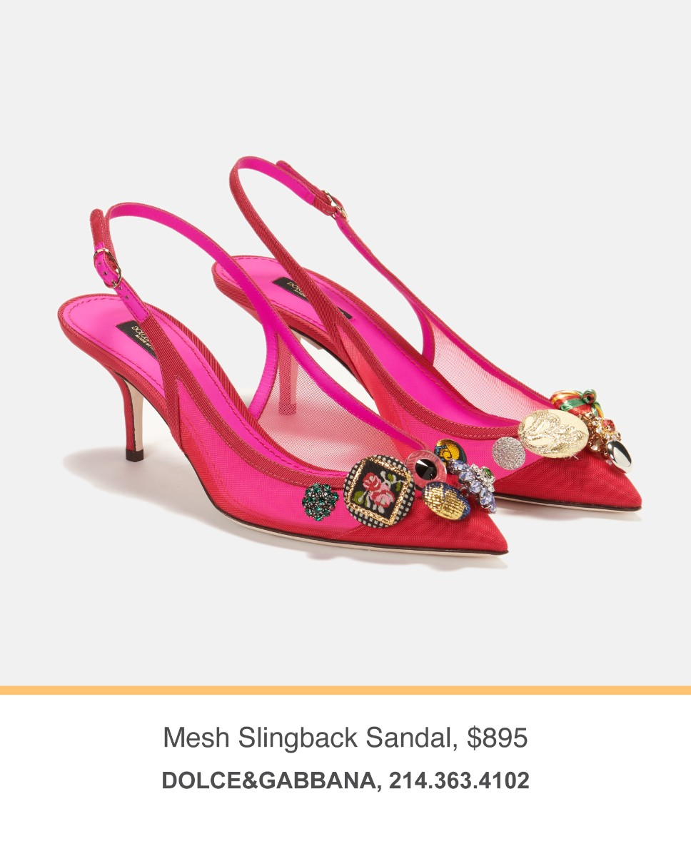Dolce&Gabbana Slingback Sandals