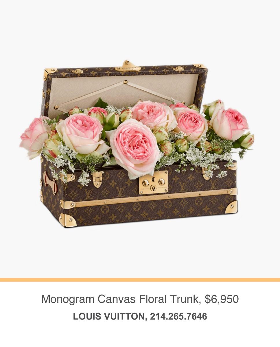 LV Floral Trunk