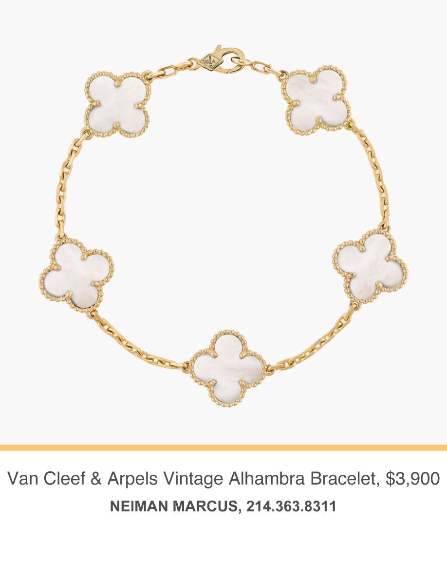 Neiman Marcus Van Cleef Bracelet