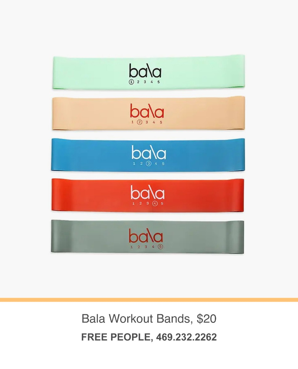 Free People workout bands