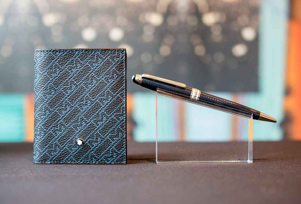 Montblanc Card Holder and Ballpoint Pen